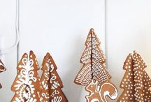 Christmas: Gingerbread Baking / I love gingerbread!  I love it so much that I had a gingerbread replica of the temple where we were married, instead of the traditional wedding cake.  I keep all kinds of gingerbread inspiration here.