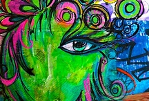 Journal page ideas / by Jerri Bickerton