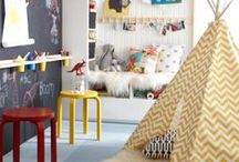 Decor - Playroom / play room decor, crafts, activities, fun tips, household helps, play kitchens
