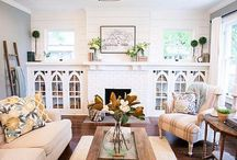 Room for Living / Living Room decor inspiration.  Decorating for the rooms where you really live.