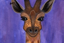 Giraffe / Giraffe inspiration for Project Isabella Graphic Workshop for developing our clipart, graphics to buy individually, zipped or as craftartist digikit #craftartist / by Project Isabella