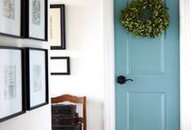 Decor - Entry Way / front hall, closet, foyer, interior doorway, wall decor, hooks, first impression