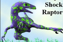 Raptor / Raptor inspiration for Project Isabella Graphic Workshop for developing our dinosaur clipart, graphics to buy individually, zipped or as craftartist digikit #craftartist / by Project Isabella