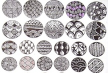Zentangle / Zentangle inspiration for Project Isabella Graphic Workshop for developing our clipart, graphics to buy individually, zipped or as craftartist digikit #craftartist / by Project Isabella