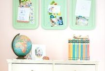 Homeschool - Room / home education spaces and places, work stations, style