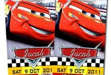 Disney Cars & Planes Party Ideas / Disney Cars Invitations, decoration, party supplies and printables!