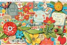 Misty Cato Designs / Digital Scrapbooking Products from Misty Cato available at Sweet Shoppe Designs / by Misty Cato