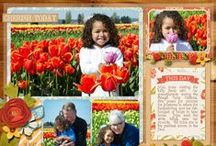 Words and Pictures Digital Layouts / by Misty Cato