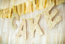 Gold & Glitter party