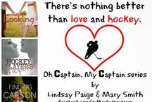 Oh Captain, My Captain / An Adult Sports Romance standalone series from Lindsay Paige and Mary Smith.