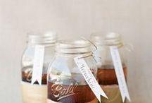 food in jars