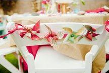 Pinwheel Wedding / Wedding decor with a fresh spin:  pinwheels!