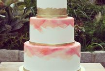 Pastel + Gold Wedding / Weddings featuring a color scheme of a pretty pastel paired with gold.