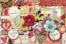 Looking Forward / Layouts, projects and images using Looking Forward digital scrapbook kit by Misty Cato, Amber Shaw and Krystal Hartley / by Misty Cato