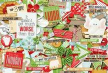 It's the Thought that Counts / Layouts and project using It's the Thought that Counts Digital Scrapbooking Kit by Misty Cato and Heather Roselli available at Sweet Shoppe Designs / by Misty Cato