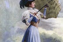 1870-1899 -- Women's Fashion / by Leslie Burgess