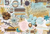 Let Us Be Adventurers / Digital scrapbook layouts and projects with Let Us Be Adventurers digital scrapbooking kit by Misty Cato available at Sweet Shoppe Designs / by Misty Cato