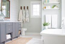 Bathing / Bathroom decor and design ideas.