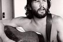 Kris Kristofferson / My favourite songwriter singer. I adore this man!