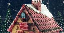 Gingerbread Houses | Self-Care / Gingerbread houses, trains, carousels, nativity scenes - really, anything that can be made into a scene using gingerbread or sugar cookies.