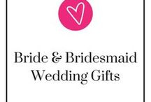 Bride and Bridesmaid Wedding Gifts / Omg! You just got engaged! Congratulations! Of course, you have to let the whole world know! What better way to show off your new engagement with a new shirt or new mug and your new ring! Wanna show off your bridal squad or just thank them? We got some of gifts to accommodate that, too!