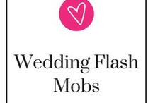 Wedding Flash Mobs / There's no better way than to surprise and entertain your guests with a big FLASH MOB! It's also a way to get more people involved in your wedding, too, especially since not everyone can be part of your bridal party. Not sure about choreography? Here's a couple of ideas! Take a step back, relax, and be ready to pin.