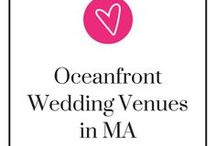 Oceanfront Wedding Venues in Massachusetts / You know, Massachusetts is a great location if you want a venue with an oceanfront view. Here's a compilation of them so then you don't need 20 tabs up to keep track of them! Take a step back, relax, and be ready to pin.