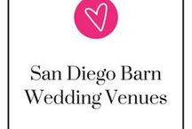 San Diego Barn Wedding Venues / If you're looking for a venue for your rustic wedding, a barn is a wonderful choice. The San Diego area has so many to choose from. Come, and take a look!
