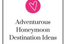 Adventurous Honeymoon Destination Ideas / For wedding tips, gift guides and wedding planning help, check out the Gourmet Wedding Gifts blog: http://blog.gourmetweddinggifts.com/