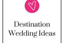 Destination Wedding Ideas / If you ARE planning a destination wedding, here's a board all about it! For wedding tips, gift guides and wedding planning help, check out the Gourmet Wedding Gifts blog: http://blog.gourmetweddinggifts.com/