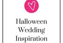 Halloween Wedding Inspiration / Saying I do to your boo near or on Halloween?  Here is a whole Pinterest board to inspire you with your Halloween wedding! Take a step back, relax, and be ready to pin!