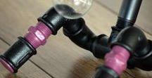 Small Colored - rózsaszín/mályva / Kicsi színes sétálós lámpa mályva és rózsaszínben tündökölve.