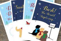 Christmas Cards - Doodles, Spoodles & Cockapoos