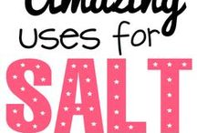 Uses for Salt / The various beneficial uses of salt