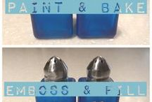 DIY Salt and Pepper Shakers / How-to's for DIY salt and pepper shakers