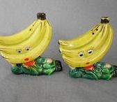 Anthropomorphic Salt and Pepper Shakers