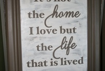 Home is where my heart is... / by Kerry Ann Lauria