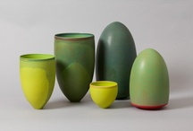 Art |CERAMICS / A collection of beautiful pottery and ceramic art. / by Rebecca Bookwalter