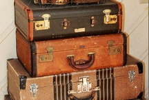 Suitcases...Trunks so old / by Bobbie Jenkins