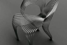 Furniture | CHAIRS / Forgot boring chairs, these chairs make a statement! They are artistic, unique, and not your average chair. / by Rebecca Bookwalter