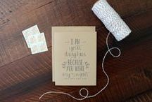 Paperlaced {on Etsy} / A rustic chic paper boutique. Stop by the shop! http://paperlaced.etsy.com