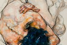 Art |NUDE FIGURE / Art depicting the human form. / by Rebecca Bookwalter