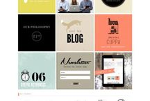 Design |WEB / Lovely and inspiring web designs. / by Rebecca Bookwalter