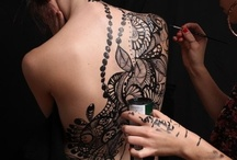 Stomach and Back tattoo ideas