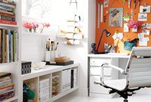Studio Inspiration / Ideas for creative studio and office spaces. / by Rebecca Bookwalter