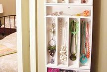 DIY Storage solutions / How to be more organized!  / by Dorothy P