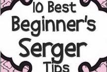Knitting & Serger stuff / by Dorothy P