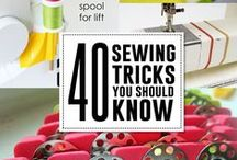 Sew, a needle pulling thread! / I have found some things I want to make. There are also things I have to learn about sewing. I also need more fabric. It's a problem. / by Abby Shea