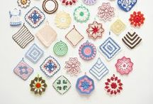 Crochet Potholders / by Stephanie Sario