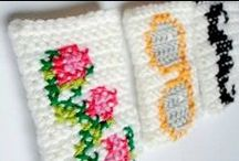 Crochet & Cross-stitch / by Stephanie Sario
